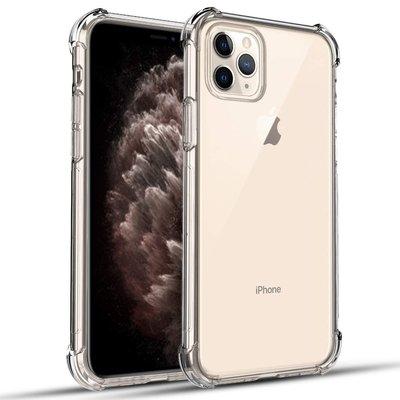 iPhone 11 Pro Max hoesje, Shock proof gel case met verstevigde hoeken, volledig doorzichtig