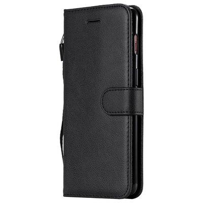 OnePlus 7 hoesje, 3-in-1 bookcase, zwart