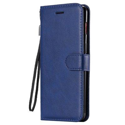 OnePlus 7 hoesje, 3-in-1 bookcase, blauw