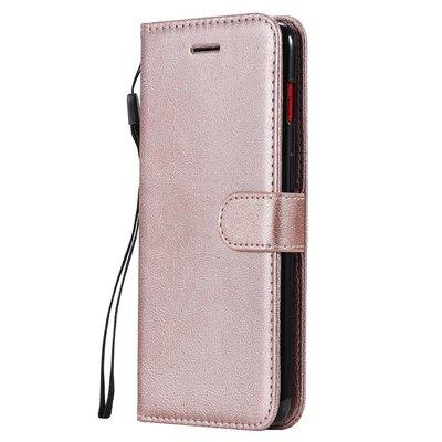OnePlus 7 hoesje, 3-in-1 bookcase, rosé goud