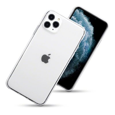 iPhone 11 Pro Max hoesje, gel case, volledig doorzichtig