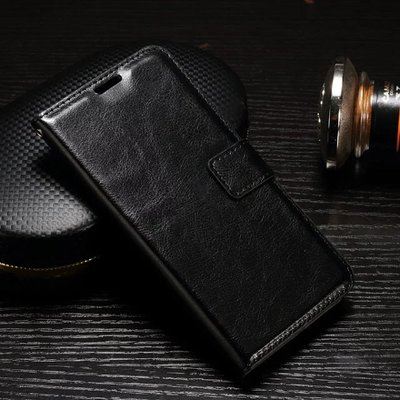 Samsung Galaxy Xcover 4S hoesje, 3-in-1 bookcase, zwart
