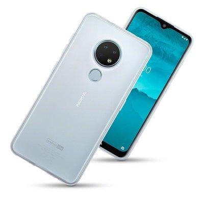 Nokia 6.2 / Nokia 7.2 telefoonhoesje, gel case, volledig doorzichtig