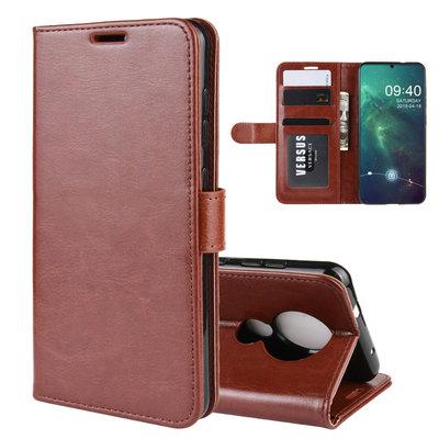 Nokia 6.2 / Nokia 7.2 hoesje, 3-in-1 bookcase, bruin