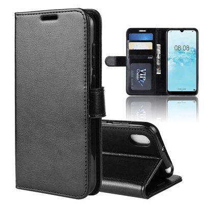 Huawei Y5 (2019) hoesje, 3-in-1 bookcase, zwart