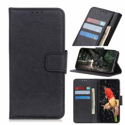 Nokia 6.2 / Nokia 7.2 hoesje, 3-in-1 bookcase, zwart