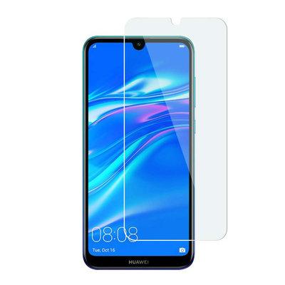 Huawei Y6 (2019) screenprotector, tempered glass (glazen screenprotector)