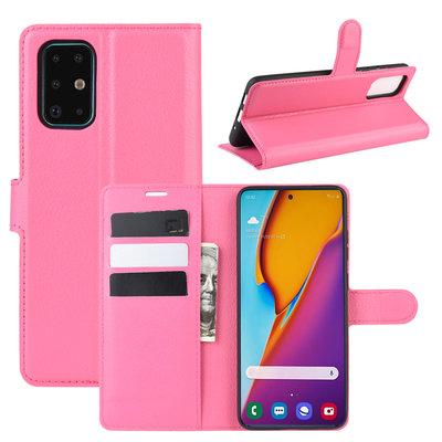 Samsung Galaxy S20 Plus (S20+) hoesje, Wallet bookcase, Roze