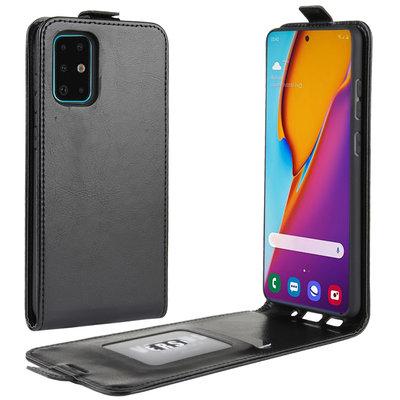 Samsung Galaxy S20 Plus (S20+) hoesje, Flipcase, Zwart