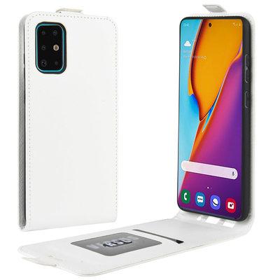 Samsung Galaxy S20 Plus (S20+) hoesje, Flipcase, Wit