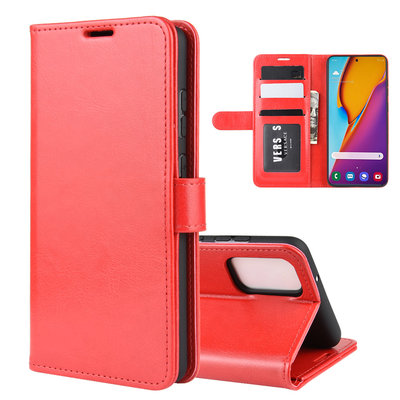 Samsung Galaxy S20 Plus (S20+) hoesje, Wallet bookcase, Rood