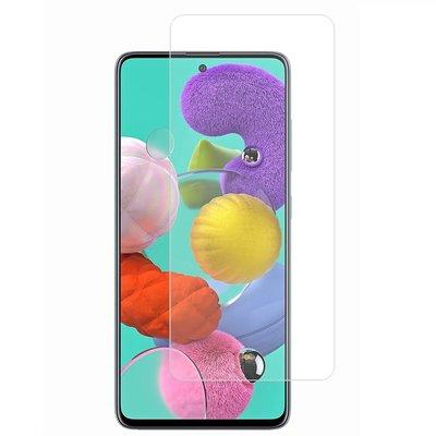 Samsung Galaxy A71 screenprotector, MobyDefend Case-Friendly Gehard Glas Screensaver