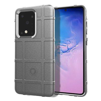 Samsung Galaxy S20 Ultra hoesje, Rugged shield TPU case, Grijs