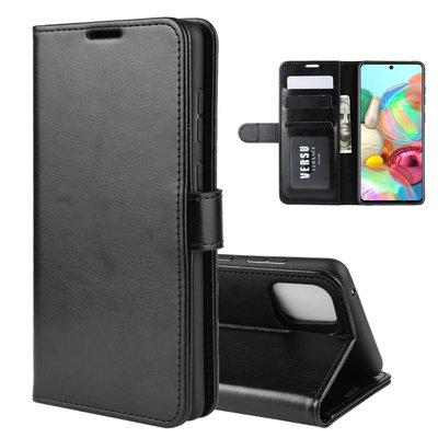 Samsung Galaxy Note 10 Lite hoesje, Wallet bookcase, Zwart