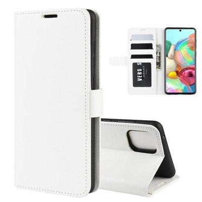 Samsung Galaxy Note 10 Lite hoesje, Wallet bookcase, Wit