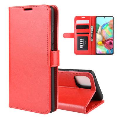 Samsung Galaxy Note 10 Lite hoesje, Wallet bookcase, Rood