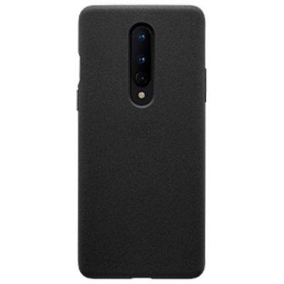 OnePlus 8 hoesje, Gel case, Mat zwart