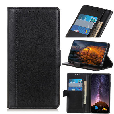 Samsung Galaxy A31 hoesje, Luxe wallet bookcase, Zwart