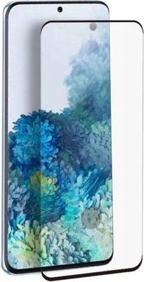 Samsung Galaxy S20 Plus (S20+) screenprotector, Full screen tempered glass (glazen screenprotector), Zwarte randen