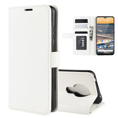 Nokia 5.3 hoesje, Wallet bookcase, Wit