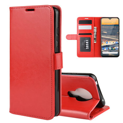 Nokia 5.3 hoesje, Wallet bookcase, Rood