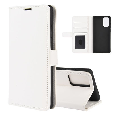 Samsung Galaxy Note 20 hoesje, Wallet bookcase, Wit