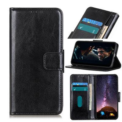 Nokia 5.3 hoesje, Wallet bookcase, Zwart