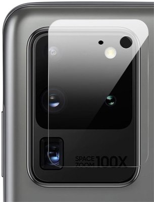 Samsung Galaxy S20 Ultra Camera protector, Volledig transparant