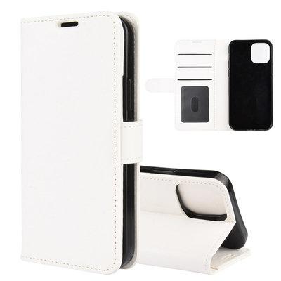 Apple iPhone 12 Mini hoesje, Wallet bookcase, Wit