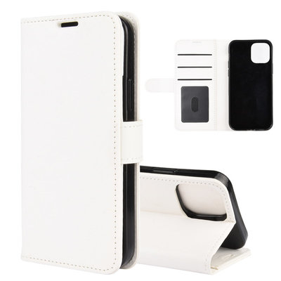 Apple iPhone 12 Pro Max hoesje, Wallet bookcase, Wit