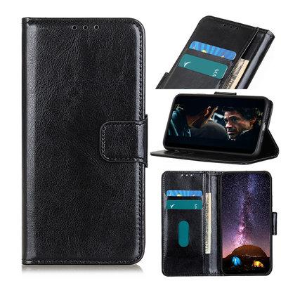 OnePlus 8T hoesje, Wallet bookcase, Zwart