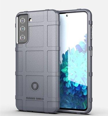 Samsung Galaxy S21 hoesje, Rugged shield TPU Gelcase, Grijs