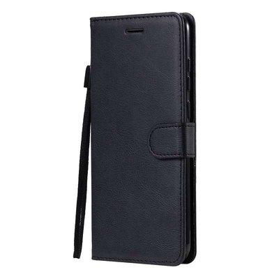 Samsung Galaxy M11 / A11 hoesje, Wallet bookcase, Zwart