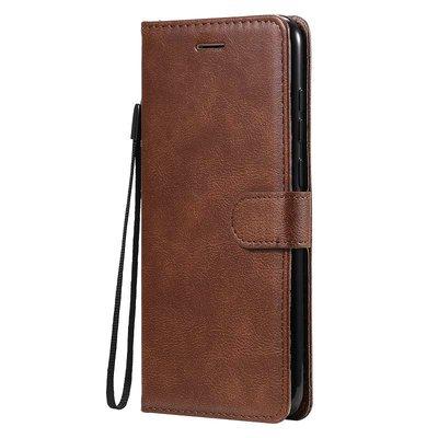 Samsung Galaxy M11 / A11 hoesje, Wallet bookcase, Bruin