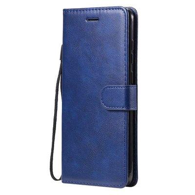 Samsung Galaxy M11 / A11 hoesje, Wallet bookcase, Blauw