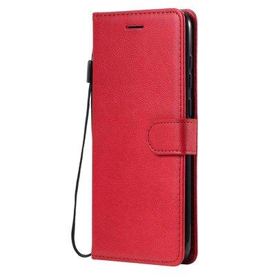 Samsung Galaxy M11 / A11 hoesje, Wallet bookcase, Rood
