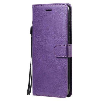 Samsung Galaxy M11 / A11 hoesje, Wallet bookcase, Paars