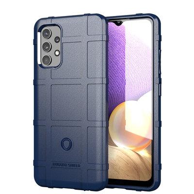 Samsung Galaxy A32 (4G) hoesje, Rugged Shield TPU Gelcase, Blauw