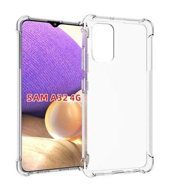 Samsung Galaxy A32 (4G) hoesje, MobyDefend Transparante Shockproof TPU Gelcase, Verstevigde Hoeken, Volledig Doorzichtig