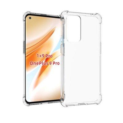OnePlus 9 Pro hoesje, MobyDefend Transparante Shockproof TPU Gelcase, Verstevigde Hoeken, Volledig Doorzichtig