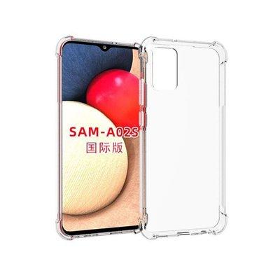 Samsung Galaxy A02s hoesje, MobyDefend Transparante Shockproof TPU Gelcase, Verstevigde Hoeken, Volledig Doorzichtig