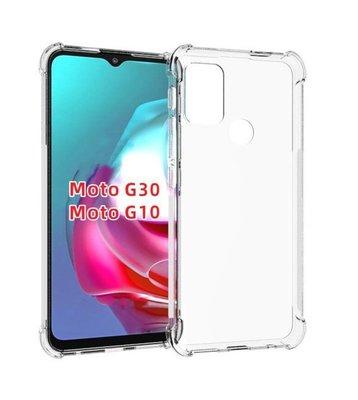 Motorola Moto G30 / G20 / G10 hoesje, MobyDefend Transparante Shockproof TPU Gelcase, Verstevigde Hoeken, Volledig Doorzichtig