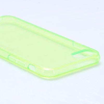 Apple iPhone 7 / iPhone 8 hoesje, gel case, doorzichtig groen