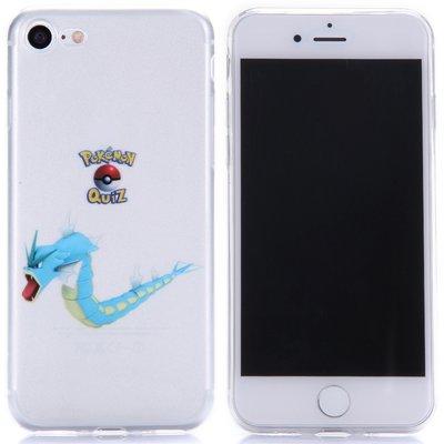 Apple iPhone 7 / iPhone 8 hoesje, doorzichtige gel case pokemon, Gyarados