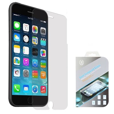 Apple iPhone 6 Plus / iPhone 6S Plus screenprotector, tempered glass (glazen screenprotector)