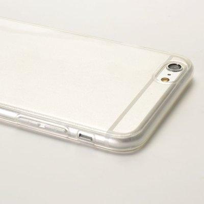 Apple iPhone 6 Plus / iPhone 6S Plus hoesje, gel case, doorzichtig