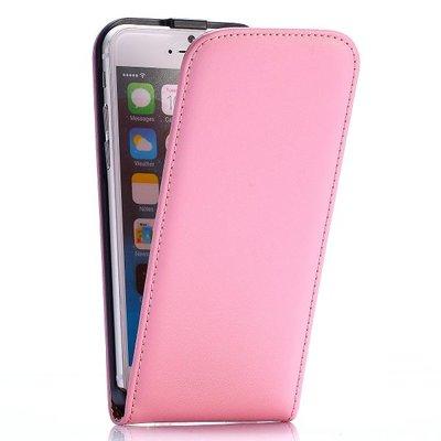 Apple iPhone 6 / iPhone 6S hoesje, flipcase, licht roze