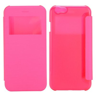 Apple iPhone 6 / iPhone 6S hoesje, window case, roze