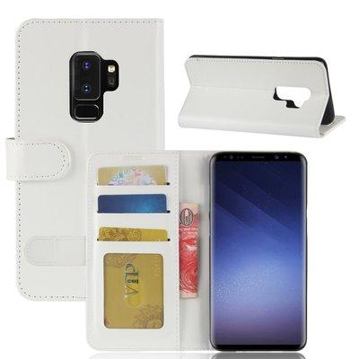 Samsung Galaxy S9 Plus (S9+) hoesje, 3-in-1 bookcase, wit