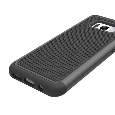 Samsung Galaxy S8 hoesje, extreme protection hardcase, zwart